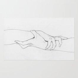 Untitled Hands No. 3 Rug
