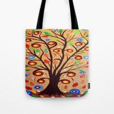 Abstract tree 4 Tote Bag