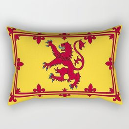 RED LION & YELLOW ROYAL BANNER OF SCOTLAND Rectangular Pillow