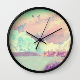 Hardangerfjord Day Wall Clock