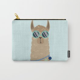 Super Cool Llama Carry-All Pouch