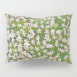 248 - Tiny White Flowers Pillow Sham