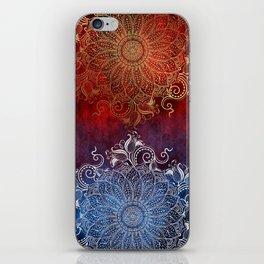 Mandala - Fire & Ice iPhone Skin