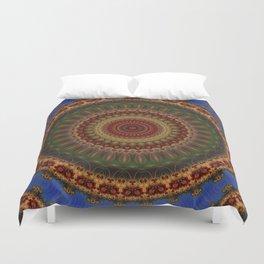 Fractal kaleidoscope, mandala Duvet Cover