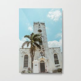 Jamaican Church Metal Print