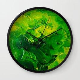 Lapeda Textile Art - 7 Wall Clock