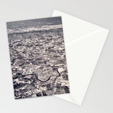 Aerial B&W Stationery Cards
