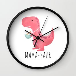 Mama-saur Wall Clock