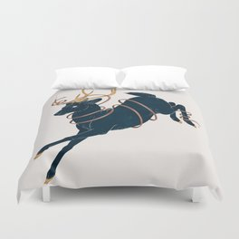 Prince of the Forest Duvet Cover
