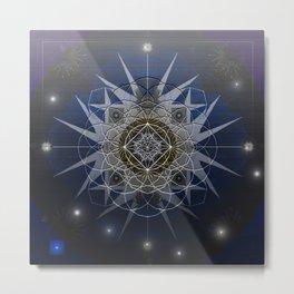 Starmaker Cosmos Mandala Print Metal Print