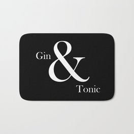 Gin & Tonic #2 Bath Mat