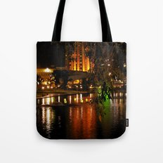 Night Time on the Torrens Tote Bag