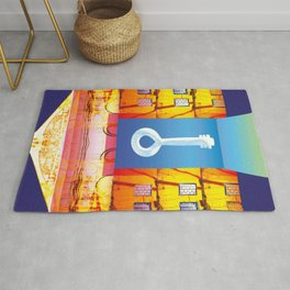 Key to the good luck Rug