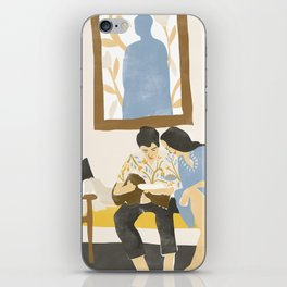 You and me and the music iPhone Skin