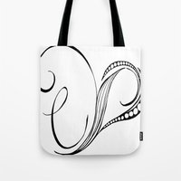 cassia beck Tote Bags featuring Cassia Kalkora by Jennifer Broderick