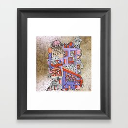 dream home #4 Framed Art Print
