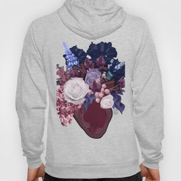 Anatomical Floral Hoody