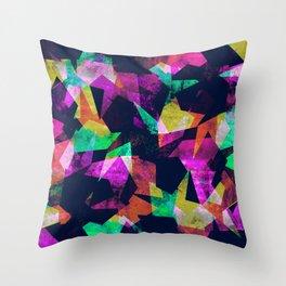 Leaf Shutter Throw Pillow