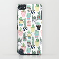 Cute Cacti in Pots iPod touch Slim Case