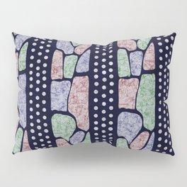 African Batik Tie Dye Pattern Pillow Sham