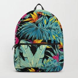 Tropical Greenery Island Dreams Backpack