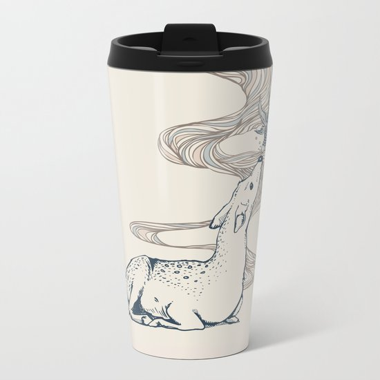 Pacifier Metal Travel Mug