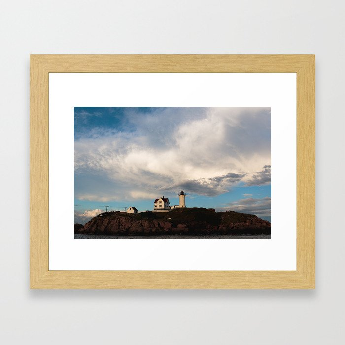 Clouded Vision Framed Art Print