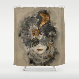 Venetian Mask 2 Shower Curtain