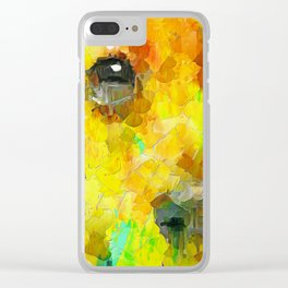 A Puppy watch you Clear iPhone Case