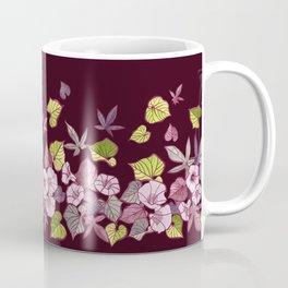 Sweet Potato Floral Border Coffee Mug