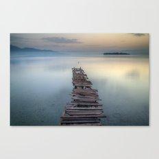 Corfu Dawn Canvas Print