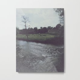 Washed Out Water Metal Print