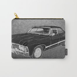 '67 Chevy Impala (Supernatural) Carry-All Pouch