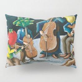 The Vegetable Musicians Pillow Sham