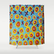 Hugs and Kisses... Shower Curtain