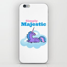 Majestic Unicorn iPhone Skin