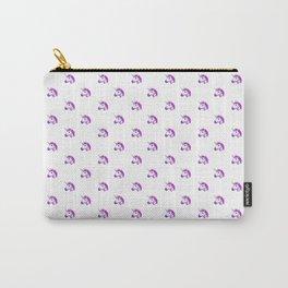 Unicorn Emoji Pattern Carry-All Pouch