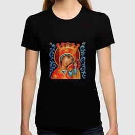 modern folk icon - Folk Madonna 2 T-shirt