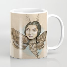 MOTH LADY Coffee Mug