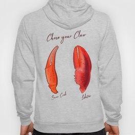 Chose your Claw, Crab vs Lobster Hoody