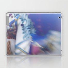 Carousel in the amusement park Laptop & iPad Skin
