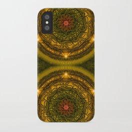 Happiness Mandala iPhone Case