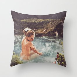 The Spa Throw Pillow