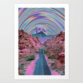 Colorful Journey Art Print