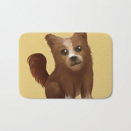 Baby dog Bath Mat