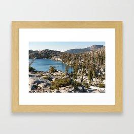 Upper Montane Forest — Desolation Wilderness Framed Art Print