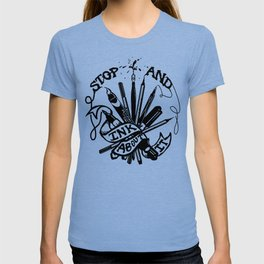 Stop And Ink About It T-shirt