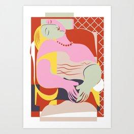 Le Reve Art Print