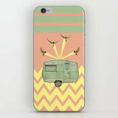 The best way to travel iPhone & iPod Skin