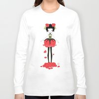 rose Long Sleeve T-shirts featuring Rose by Freeminds